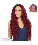 It's a wig Synthetic Lace Front Wig - SWISS LACE BOSTON