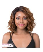 It's a wig Synthetic  Lace Front Wig - SWISS LACE DISCO