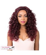 It's a wig Synthetic  Lace Front - SWISS LACE GOLDIE