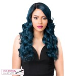 It's a wig Synthetic Futura Lace Front - SWISS LACE BLONDEL