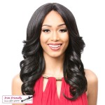 It's a wig Synthetic  Lace Front - SWISS LACE LOVITA