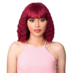 It's a wig Remi Human 100% Brazilian Full Wig - HH NATURAL BLUE