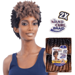 SnG FREETRESS SYNTHETIC HAIR CROCHET BRAIDS -2X TEENY CURL - S